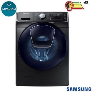 Lavadora De Roupas Samsung Addwash 15 Kg Prata Com 13 Progra