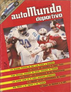 Revista Colección Automundo Deportivo #179 Julio 1985