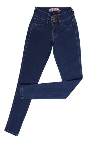 Calça Jeans Feminina Skinny Azul Destroyer Rodeowestern26352