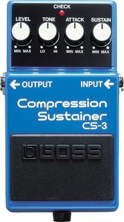 Pedal De Sustain Boss Cs3 Compression Sustainer - Cuotas