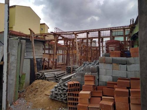 Imagem 1 de 20 de Apartamento Com 2 Dormitórios À Venda, 60 M² Por R$ 300.000,00 - Utinga - Santo André/sp - Ap12045