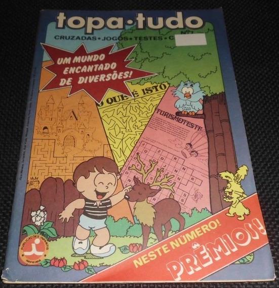 Topa-tudo - Passatempos Infanto-juvenis Nº 7 - 1983
