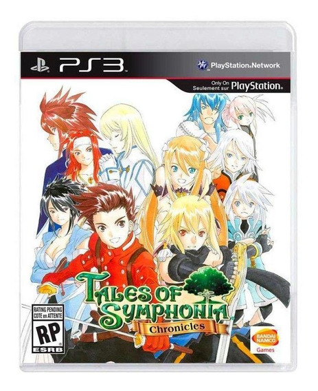 Jogo Tales Of Symphonia Chronicles - Ps3