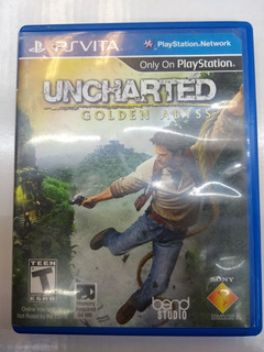 Unchaeted Golden Abyss Para Ps Vita Envio Gratis