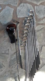 Palos De Golf +bolsa + Carro Liquido