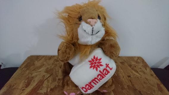 Pelúcia Leão Parmalat