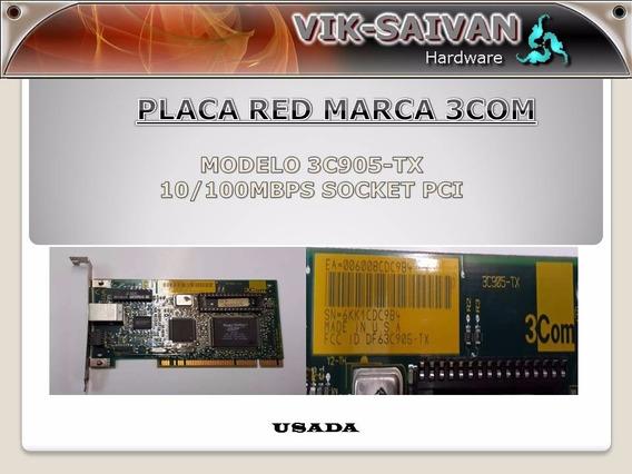 Placa De Red 3com 3c905-tx 10/100 Pci 47