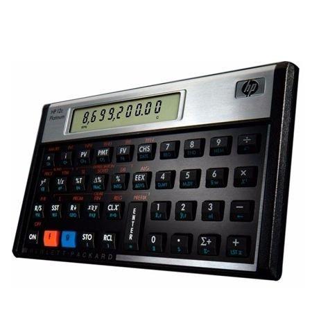 Calculadora Hp 12c Platinum Visor Lcd/130 Funções