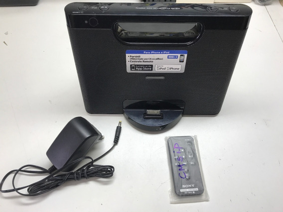 Personal Audio Docking System Sony Rdp-m7ip