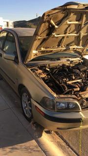 Salpicadera Para Volvo S40 Lado Copiloto
