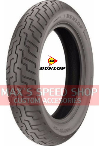 Cubierta 130/90-16 Dunlop Trasera Custom Sportster Maxspeeds