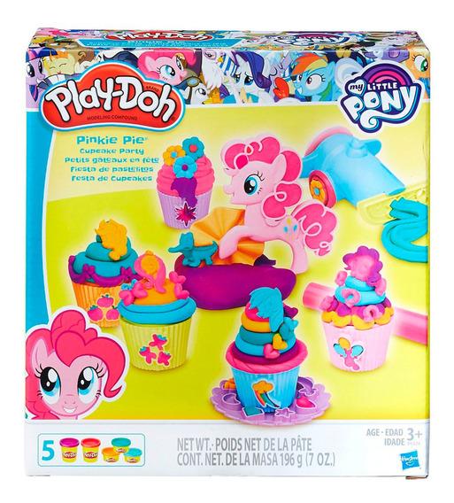 Play Doh Masa Fiesta Cupcake De Pinkie Pie