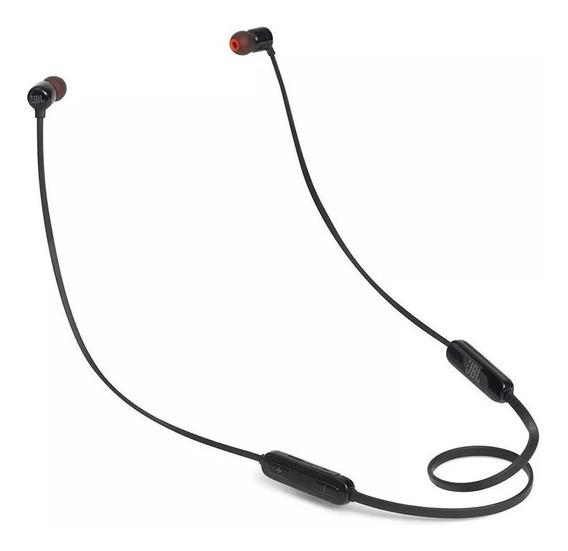 Fone De Ouvido Jbl T110 Bt Bluetooth Preto Intra Auricular