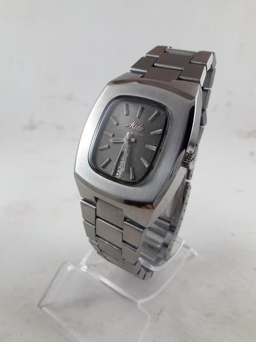 Relógio Mido Automático Vintage Estilo Bracelete Aço