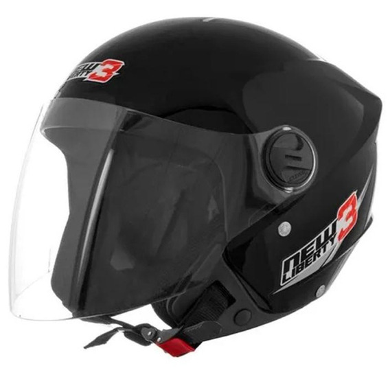 Capacete New Liberty Three Preto 60