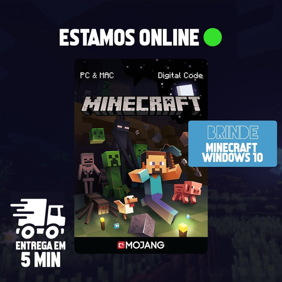 Minecraft Java Edition Pc - 100% Original (key Mojang)