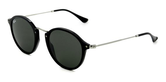 Óculos Ray Ban Rb2447 901 52 Redondo - Lente 52mm