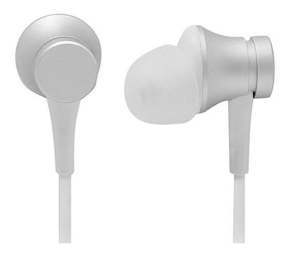 Fone De Ouvido Xiaomi Mi In-ear Headphones Original (prata)