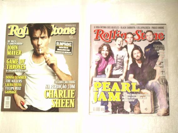 Lote Com 8 Revistas Rolling Stone