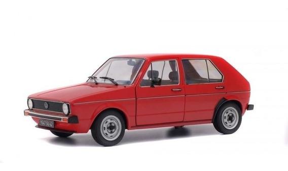 Volkswagem Golf L 1983 1:18 Solido Vermelho
