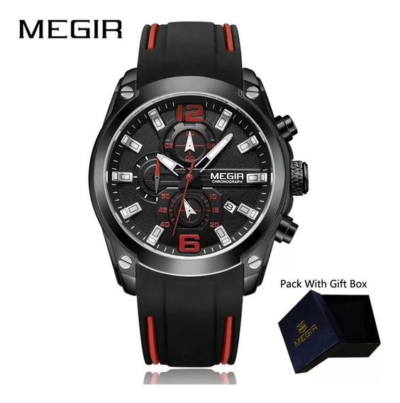 Relógio Megir Esportivo Chronograph