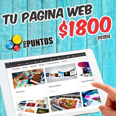 Diseñamos Tu Pagina Web A Un Bajo Costo