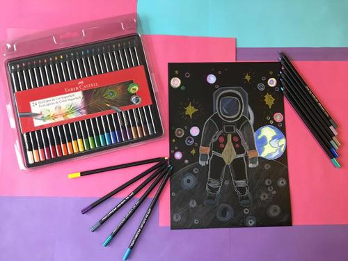Lápices De 24 Colores Supersoft Faber Castell