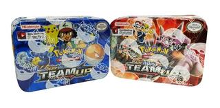 Juego De Cartas De Entrenamiento Pokémon Team Up Ref. Pk96