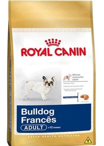Ração Royal Canin Cães Adultos Raça Bulldog Francês - 7,5kg