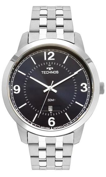 Relógio Technos Masculino Steel 2115mtg/1a Original Nf