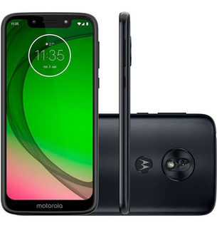 Celular Moto G7 Play 32gb Dual 5.7 1.8 Octa 13mp Índigo