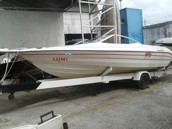 Lancha Luna 200 Focker Ventura Phantom Poddium Náutica