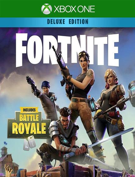 Fortnite Fundador Luxo Xbox One - 25 Dígitos (envio Flash)