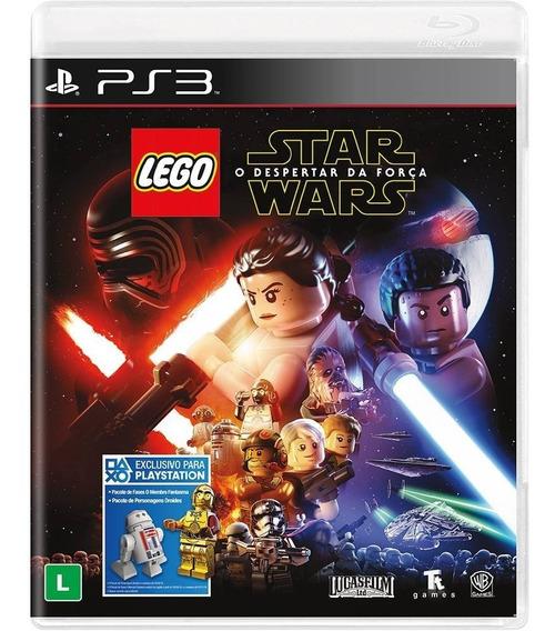 Lego Star Wars: O Despertar Da Força - Mídia Física / Ps3