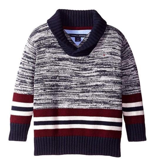Sweater Tommy Talla L Juvenil 100% Original