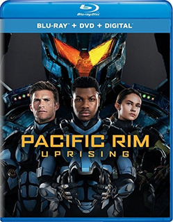 Blu-ray : Pacific Rim Uprising (with Dvd, 2 Pack, Digital...