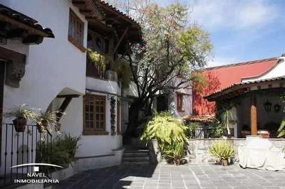 Espectacular Residencia En San Angel Tizapan, Cav-3636