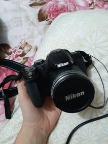 Câmera Nikon.