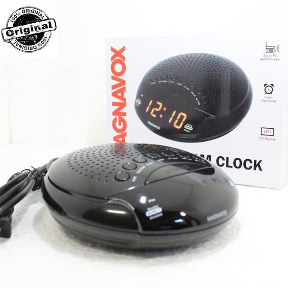 Rádio Relógio Digital Am Fm Despertador Alarme Dual Bi Volt