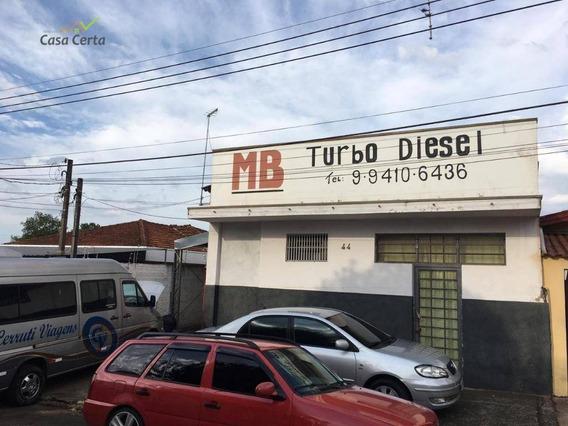 Barracão À Venda, 237 M² Por R$ 300.000,00 - Jardim Novo I - Mogi Guaçu/sp - Ba0045