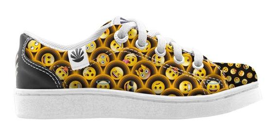 Zapatillas Kioshi Dido Emoji Teen Smiles Amarillas