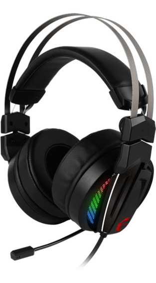 Headset Gamer Msi Immerse Gh70 Rgb Usb Preto