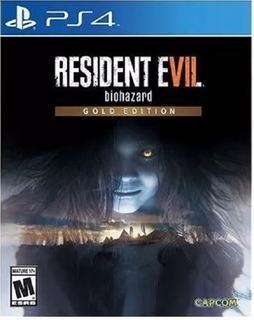 Resident Evil 7 Ps4(nuevo Y Sellado De Fabrica)compatible Vr