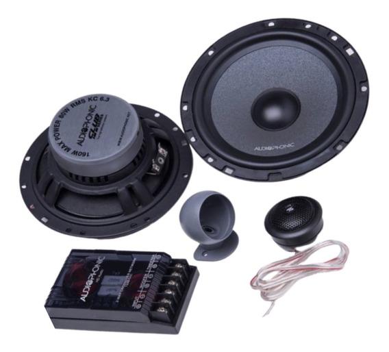 Kit 2 Vias Audiophonic Club Kc 6.3 - 6 - 80 Wrms - 4ohms