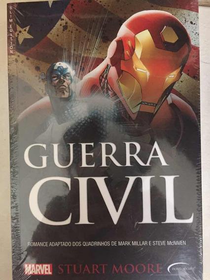Marvel Guerra Civil (homem De Ferro X Capitão América Livro)