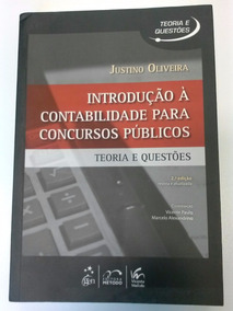 Introdução À Contabilidade Para Concursos - Justino Oliveira