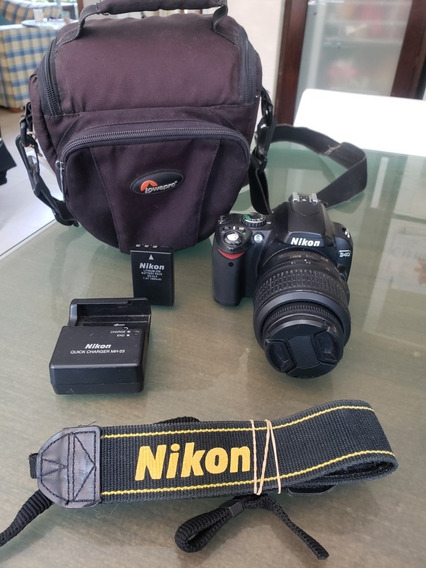Nikon D40 Con 18 55 Poco Uso 1500 Disparos