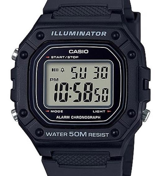 Relógio Casio Masculino Digital Illuminator W-218h-1avdf