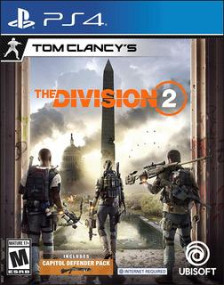 The Division 2 Tom Clancys Ps4 Fisico Nuevo Sellado Español