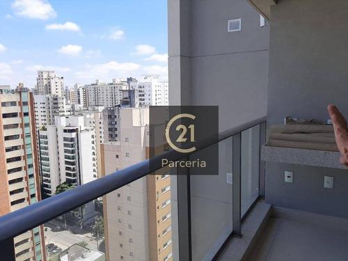 Imagem 1 de 24 de Apartamento Com 2 Dormitórios, 71 M² - Venda Por R$ 1.330.000,00 Ou Aluguel Por R$ 5.890,00/mês - Moema - São Paulo/sp - Ap16245